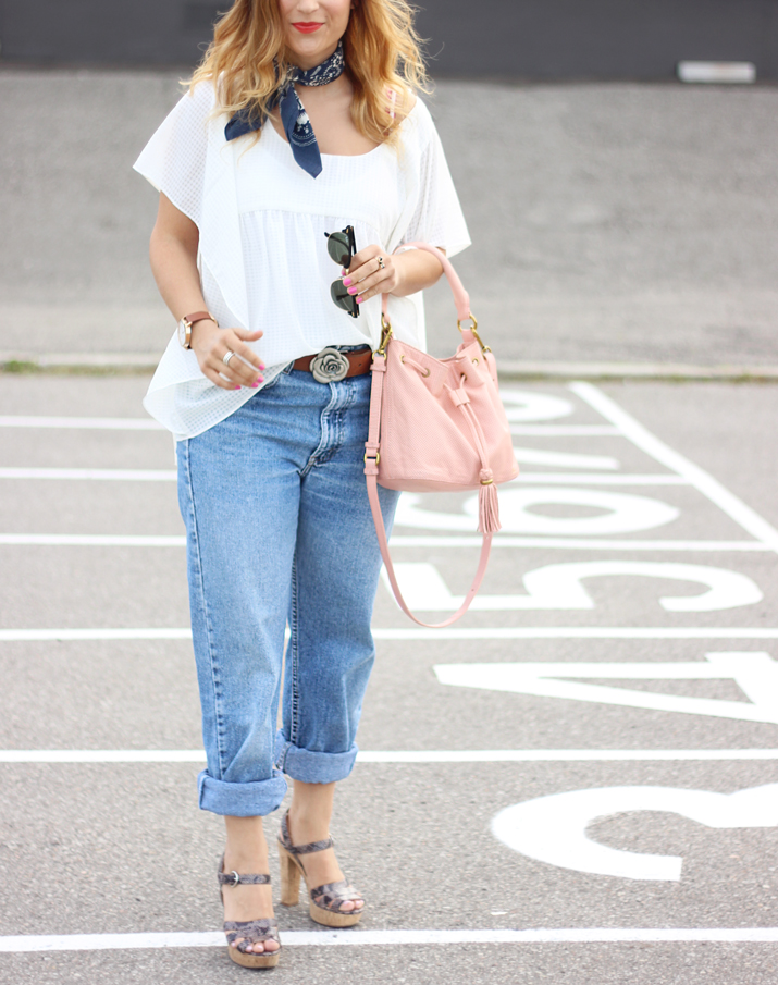 Toronto Fashion Blogger - How to wear vintage Levis