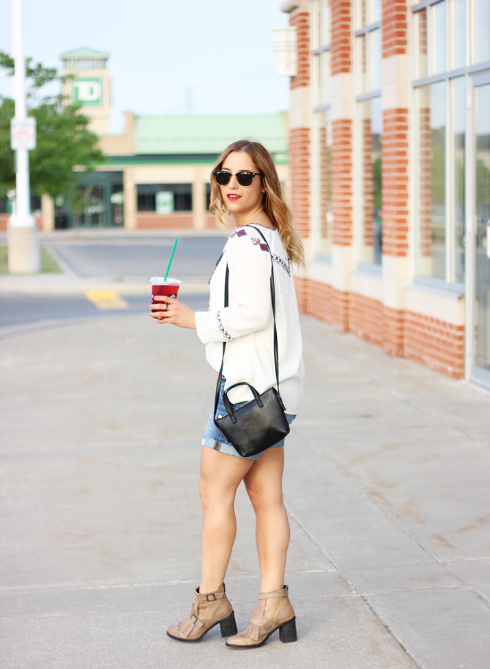 Toronto Fashion Blogger Jackie Goldhar - Easy summer outfit idea