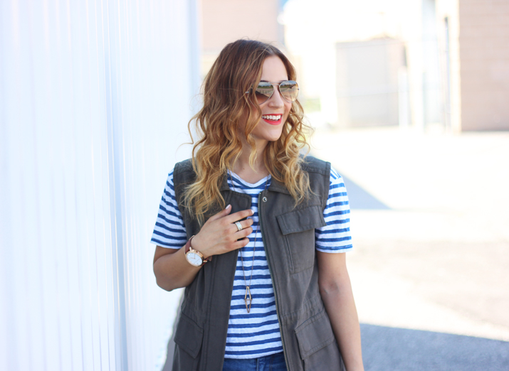 Canadian Fashion Blogger - How to wear a Cargo Vest