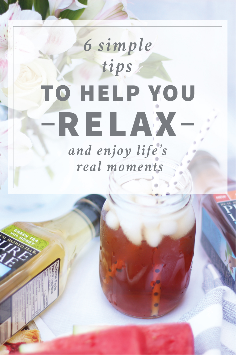 6 simple relaxation tips - how to relax and enjoy real moments in life