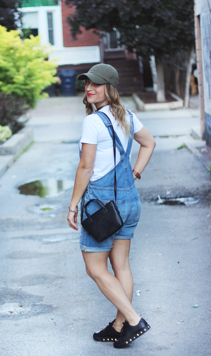 How to style short overalls - Overalls from Zara
