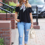 How to Wear an Off-the-Shoulder Top