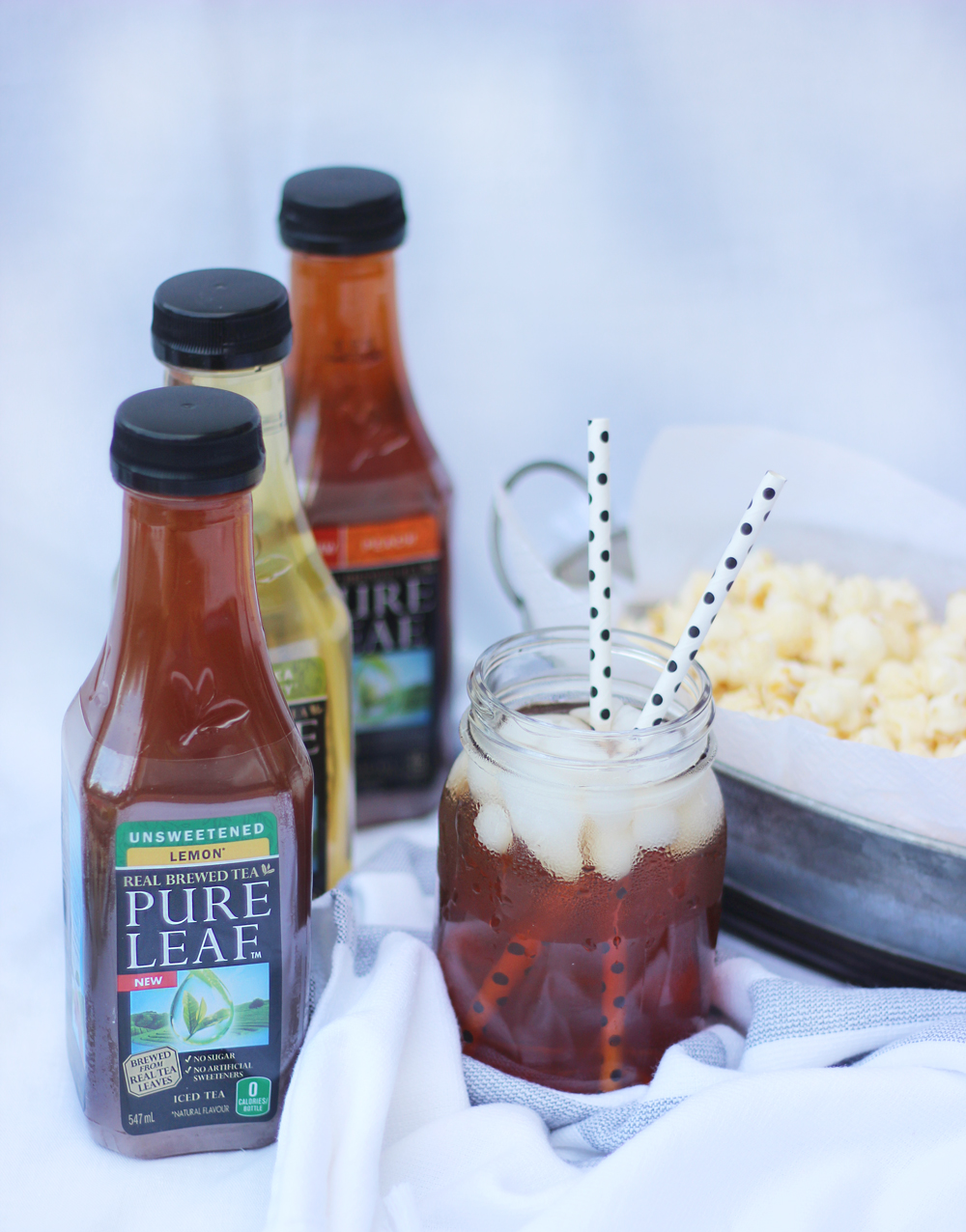 pure leaf real brewed ice tea