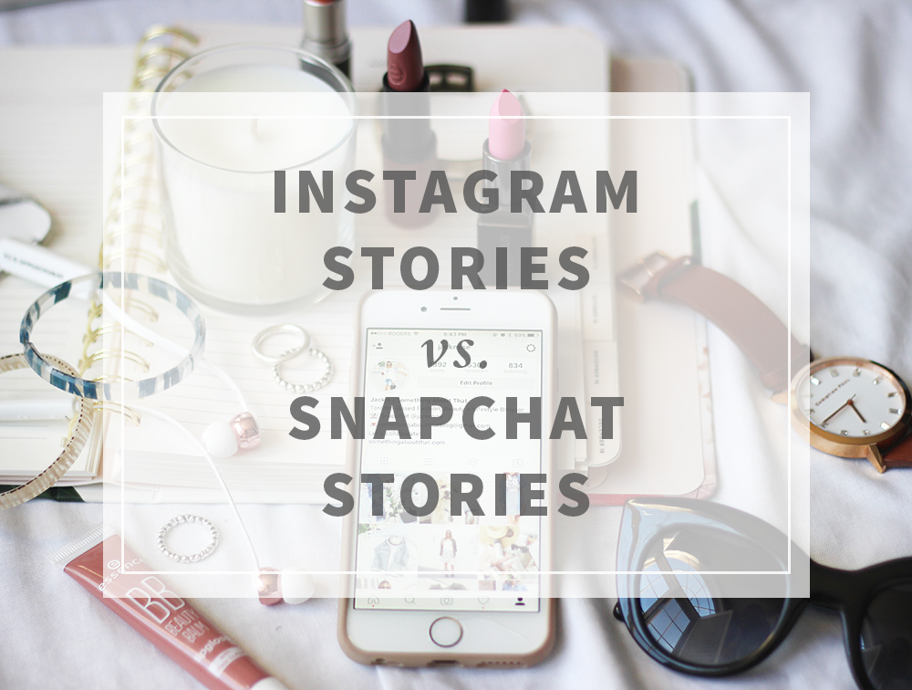 Instagram Stories vs Snapchat Stories for bloggers and small businesses