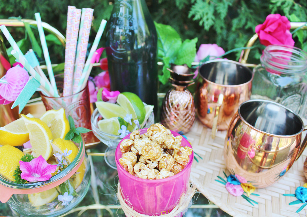 Summer bar cart inspiration