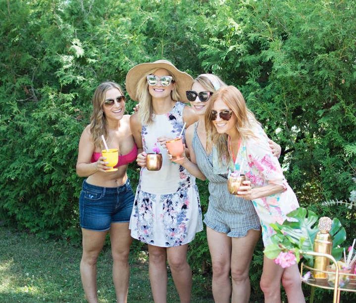 Summer party with Toronto Fashion and Lifestyle Bloggers