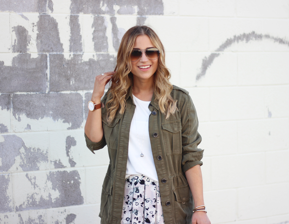 Toronto Fashion Blogger - Topshop Utility Jacket