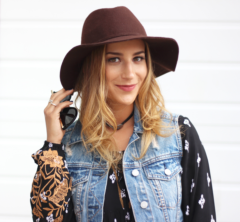 Canadian fashion blogger, Jackie Goldhar, from Toronto