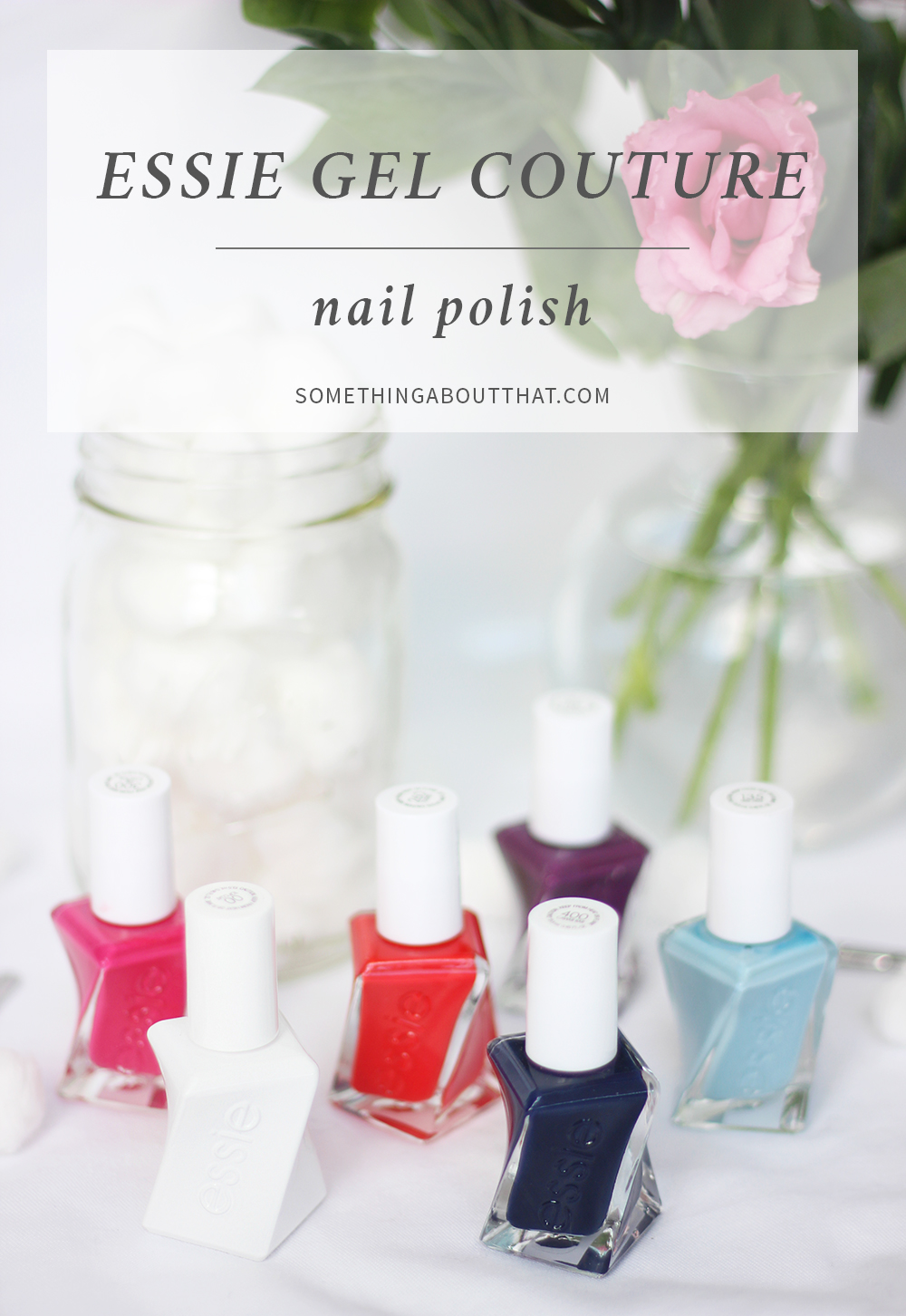 essie gel couture Nail Polish - Review - Something About That