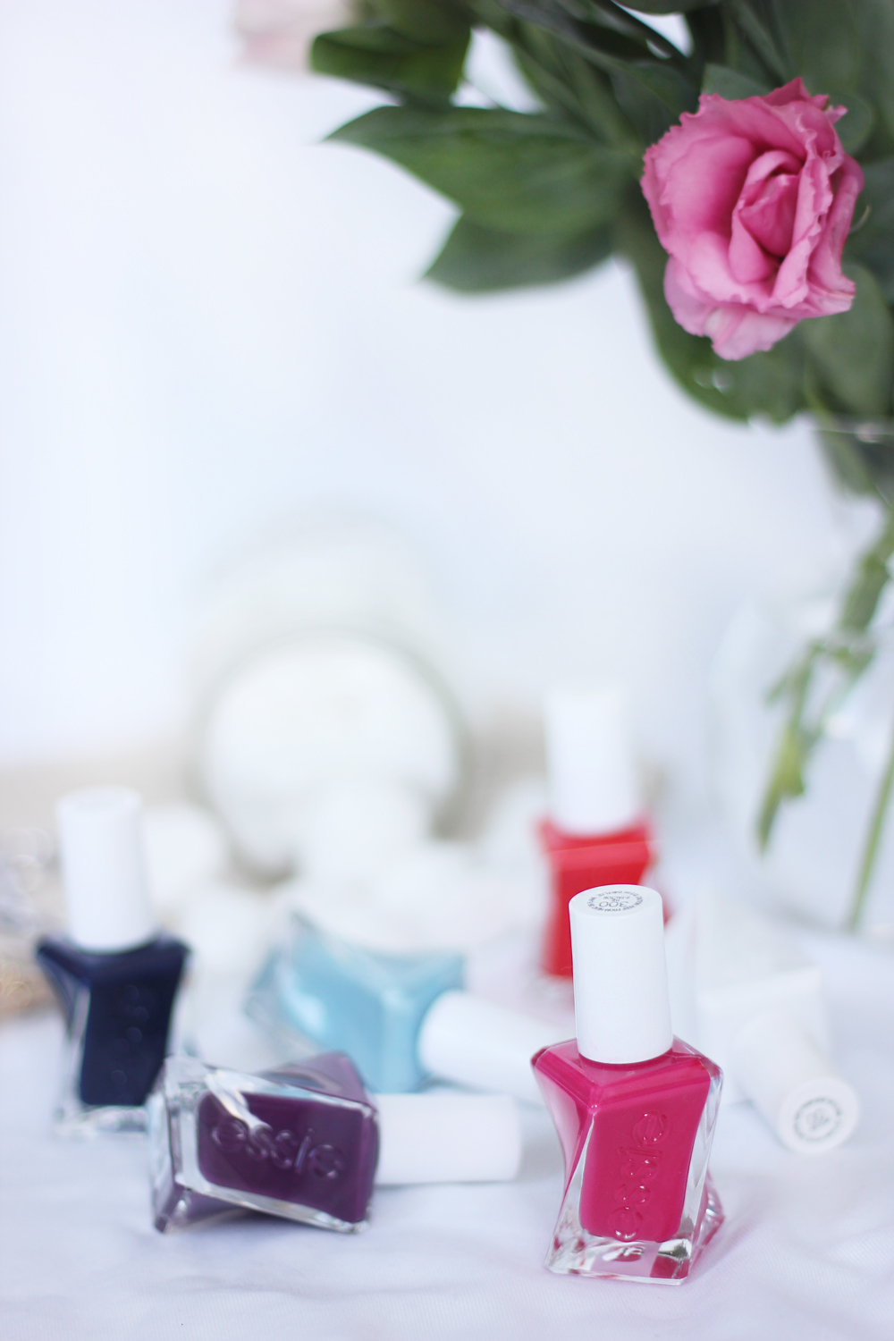 How to do an easy at-home gel manicure: Use Essie Gel Couture nail polish