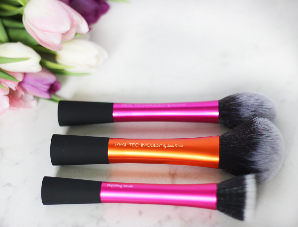 Real Techniques Makeup Brushes - available at Rexall