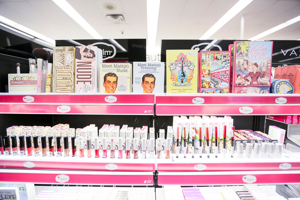 theBalm cosmetics at Rexall