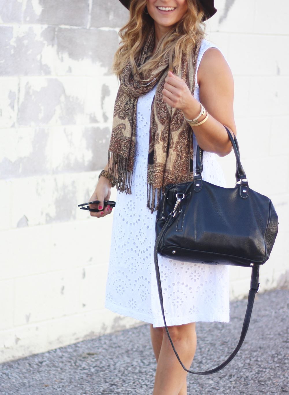 Style Tips - How to wear white in the fall