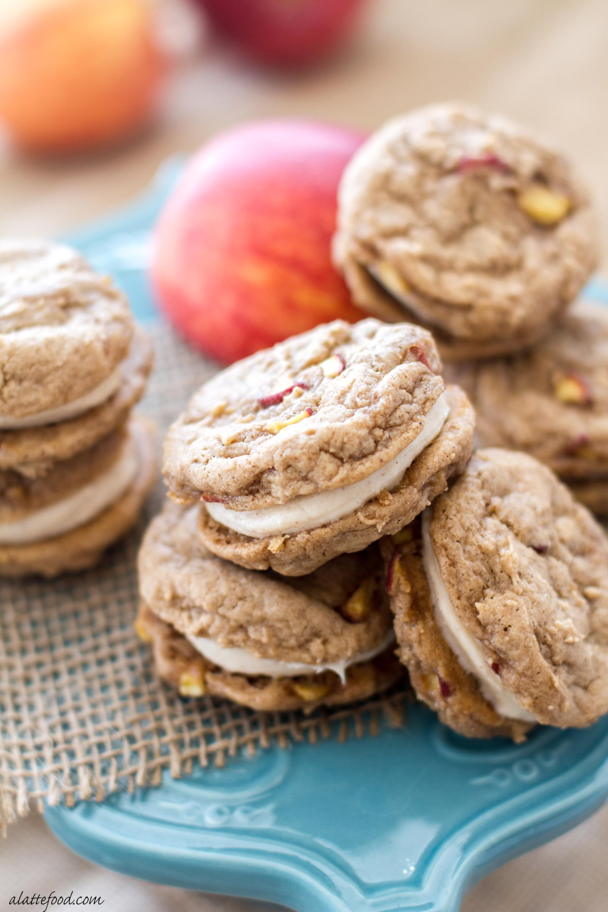 Apple Whoopie Pie Recipe - best fall desserts, not pumpkin