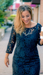 Gentle Fawn Lace Dress - Fall Outfit Ideas to Copy from Toronto Blogger