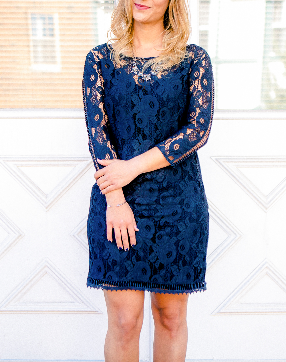 Fall style ideas - Gentle Fawn Lace Dress