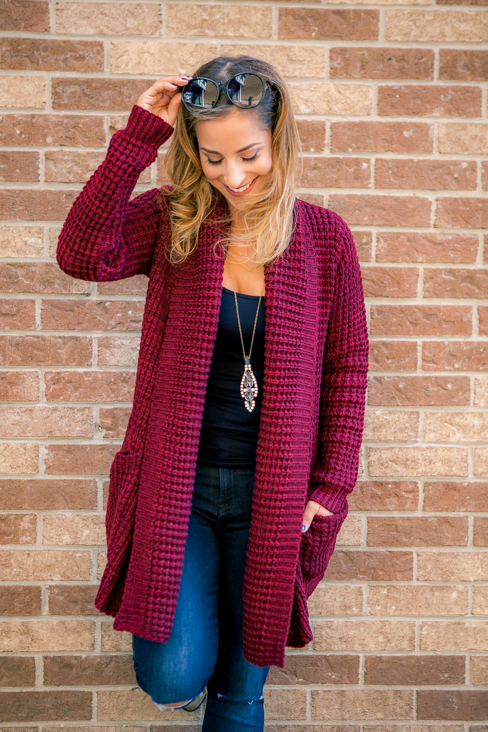 Easy fall outfit idea to copy, seen on Canadian Fashion Blogger, Jackie Goldhar, from Something About That Blog