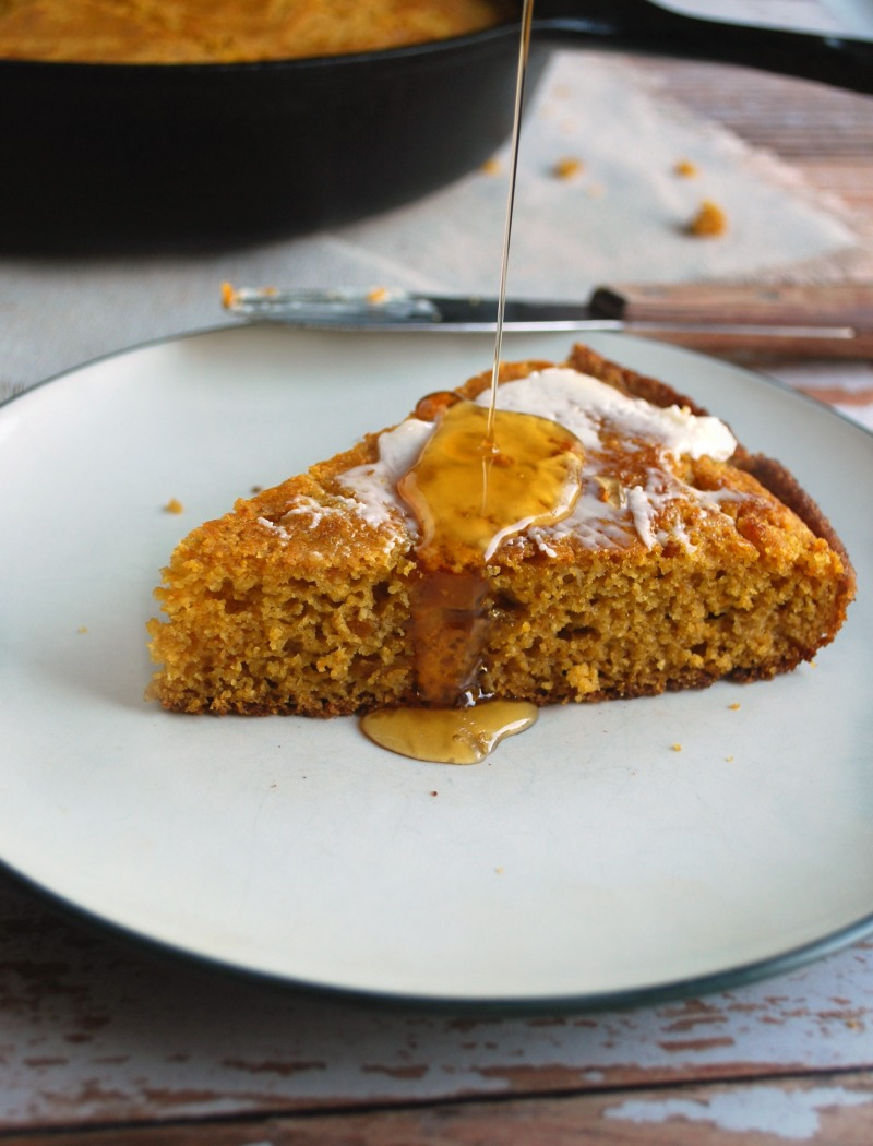 Sweet Pumpkin Ale cornbread - best fall recipes