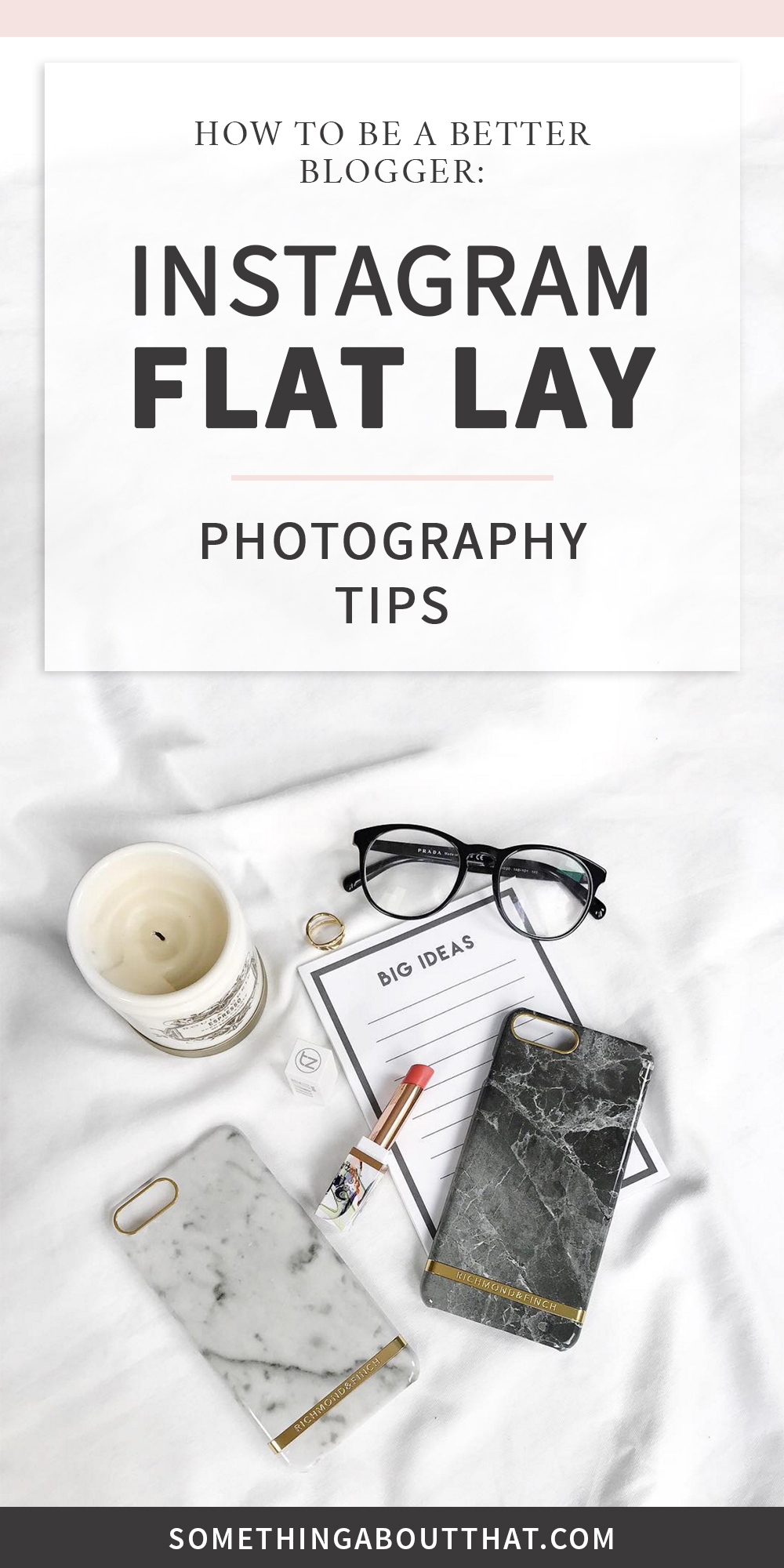 10 Instagram flat lay photography tips to help you grow your following and be a better blogger