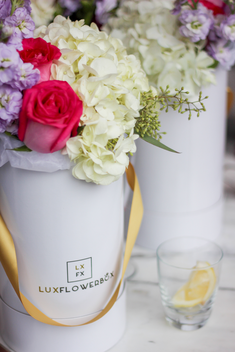 Lux Flower Box premium flower arrangements