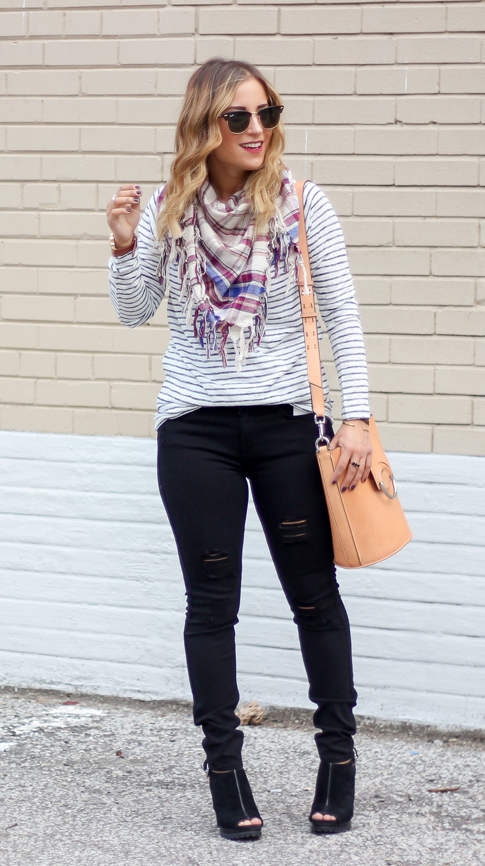 Easy Fall Outfit Idea for Gloomy Weather