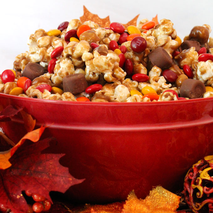 Fall desserts to make: Harvest Caramel Corn