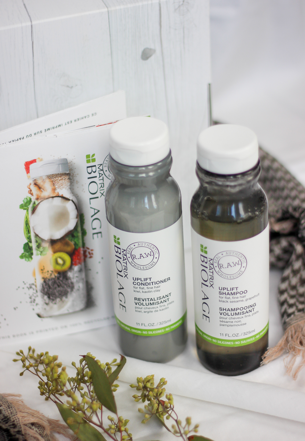 Review of the Matrix Biolage R.A.W. collection