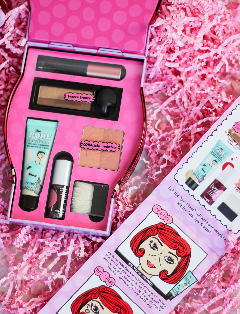 Benefit Cosmetics Holiday Gift Set for 2016 - Shoppers Drug Mart Exclusive, Girl-A-Rama full-face makeup palette