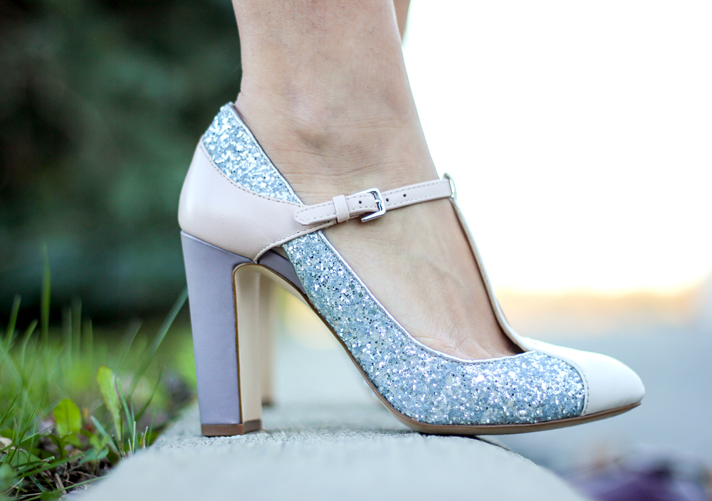 Nine West Viper T-Strap Mary Jane Pumps - these are the perfect pair of shoes for the holidays
