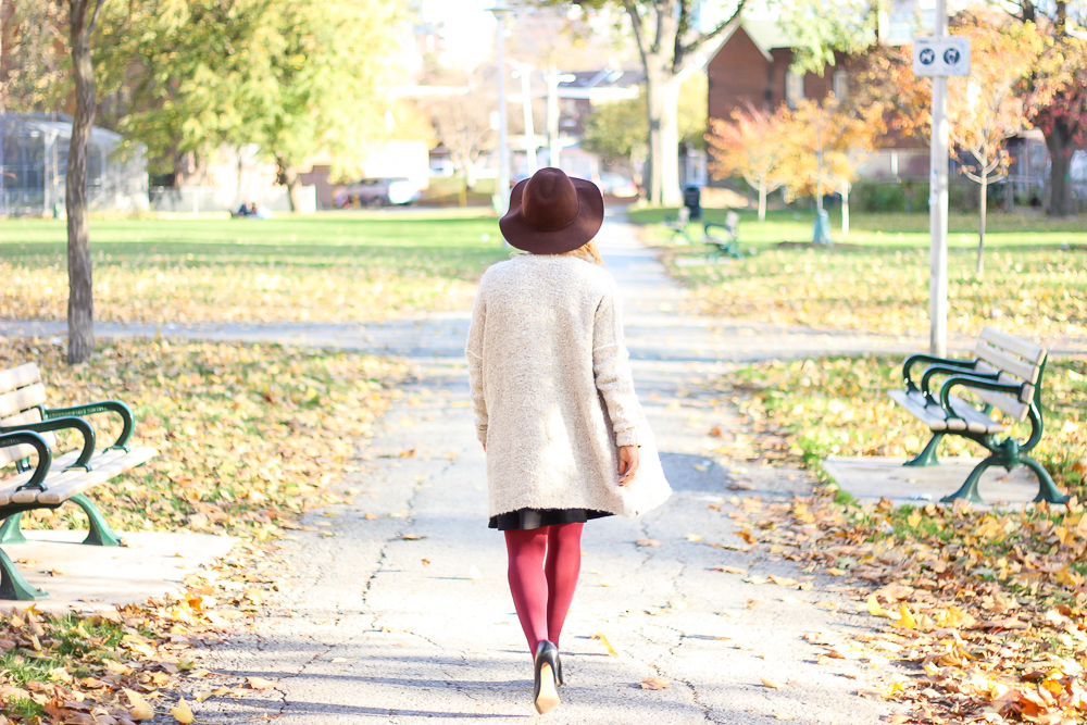 Fall outfit inspiration - Free People cardigan