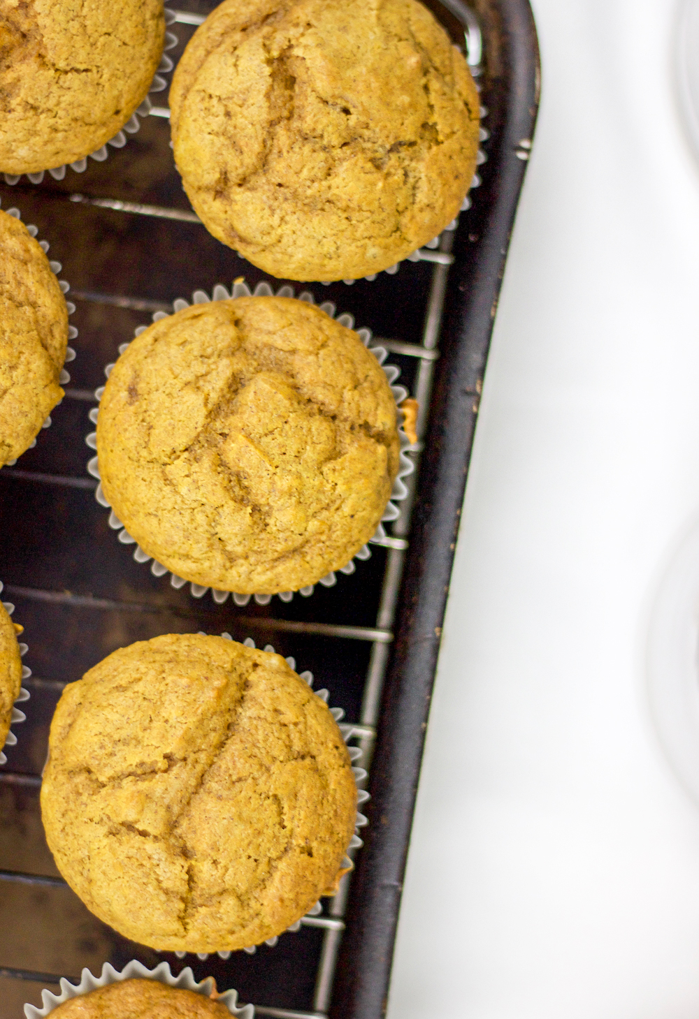Pumpkin Cupcakes with Chocolate Filling | Something About That