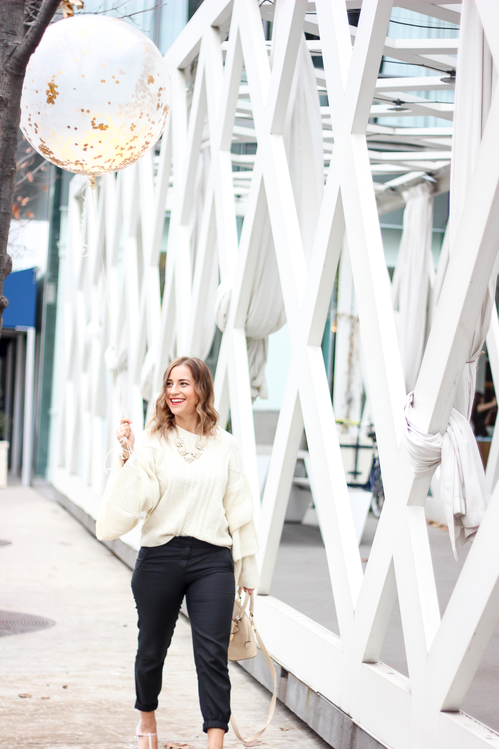 Cozy winter outfit inspiration with Canadian fashion and lifestyle blogger, Jackie of Something About That