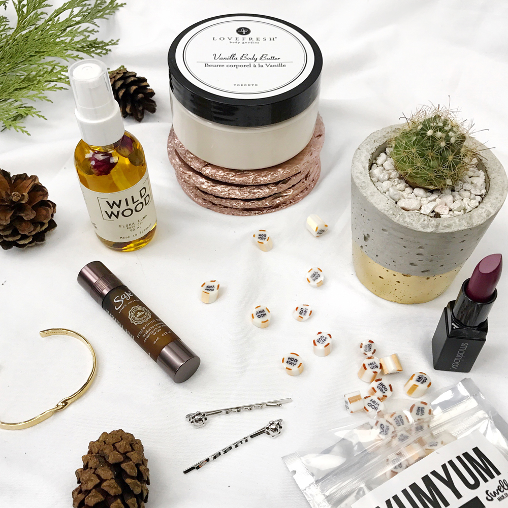 Last minute holiday gift ideas from Love Fresh, Your Pal Al, Smashbox Cosmetics and other Toronto small businesses