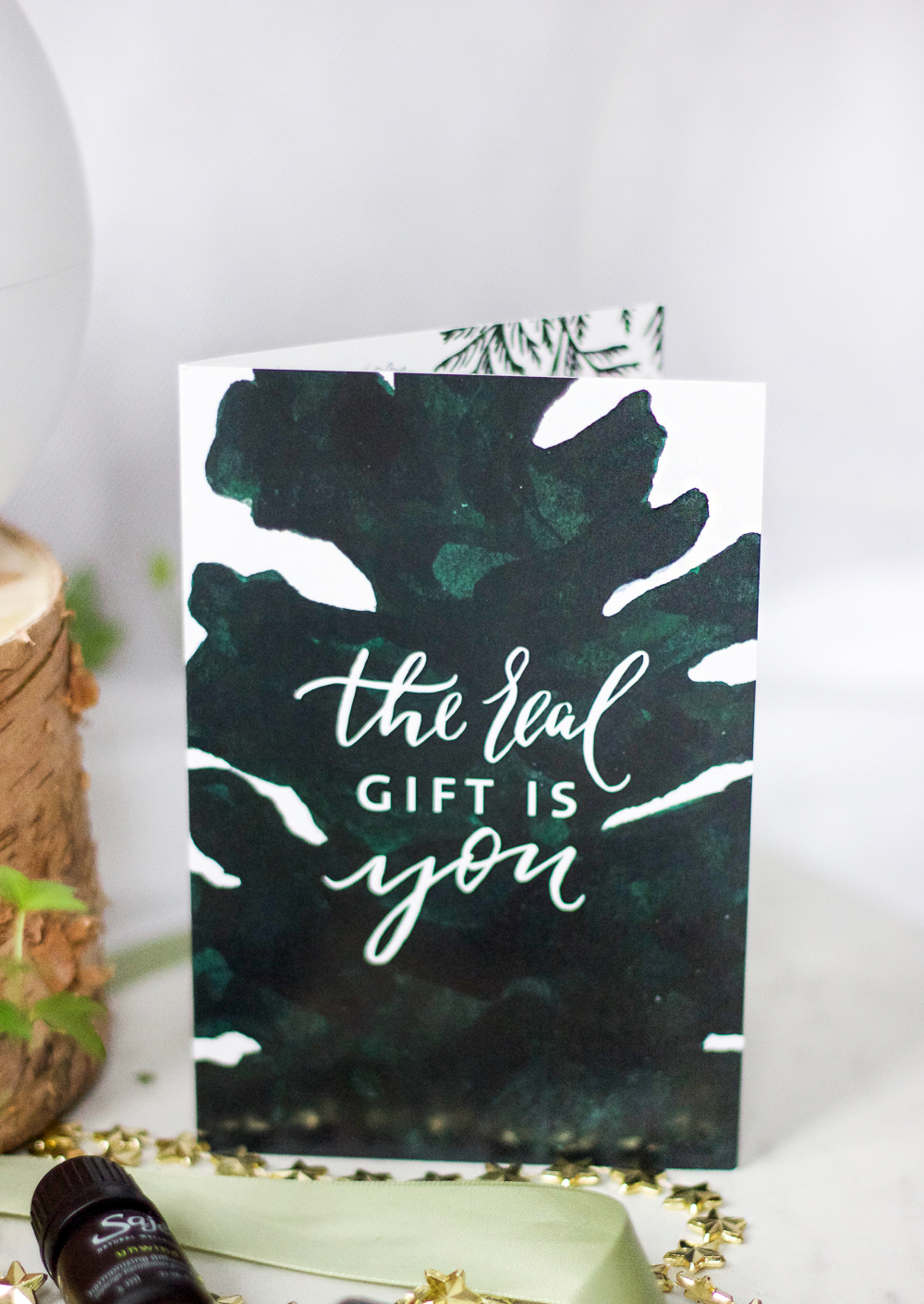 The Real Gift Is You - Saje Natural Wellness Holiday Gift ideas