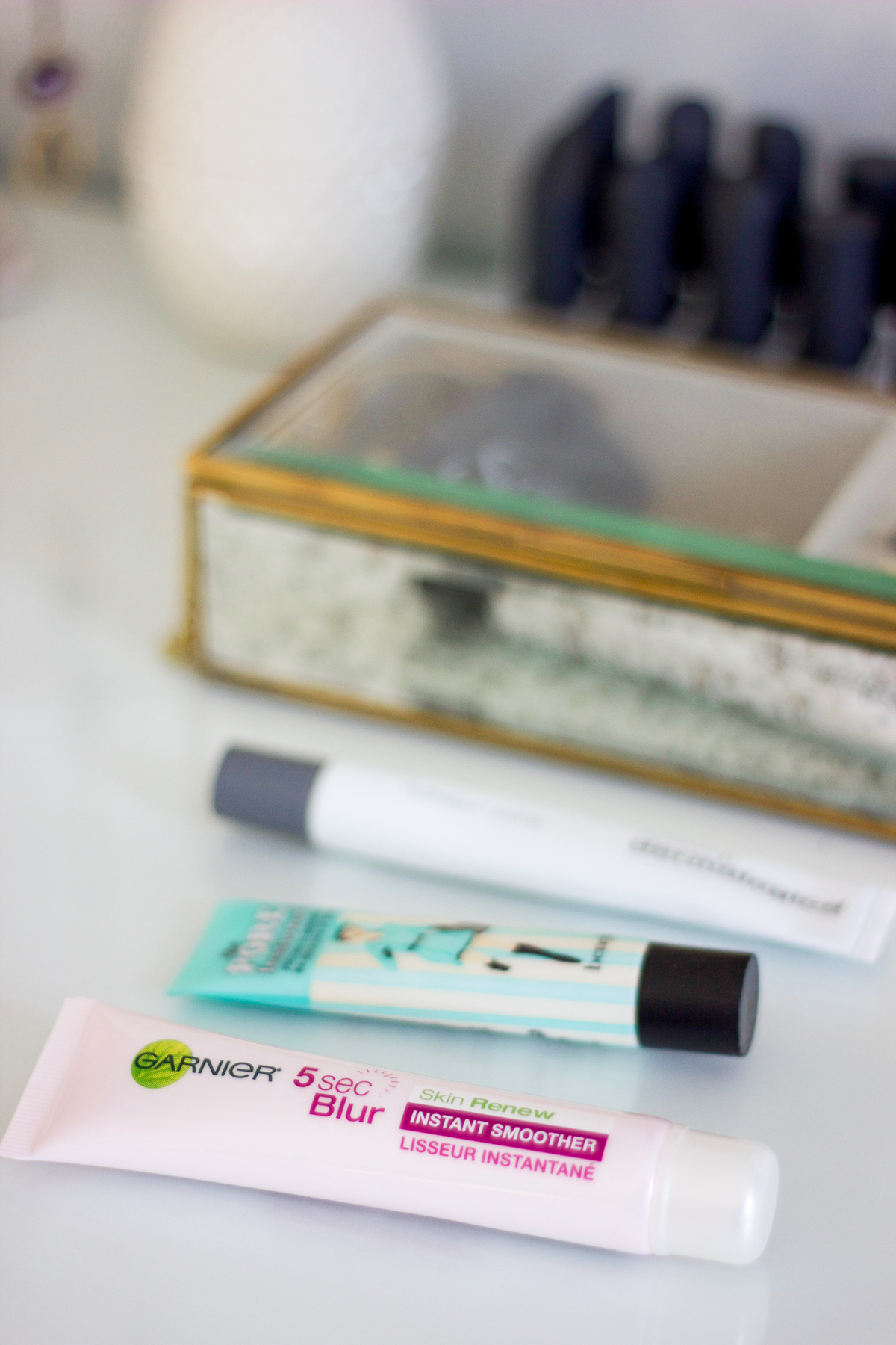 The best primers for smooth skin - Garnier 5 Second Blur, Benefit the Porefessional and Dermalogica hydrablur primer