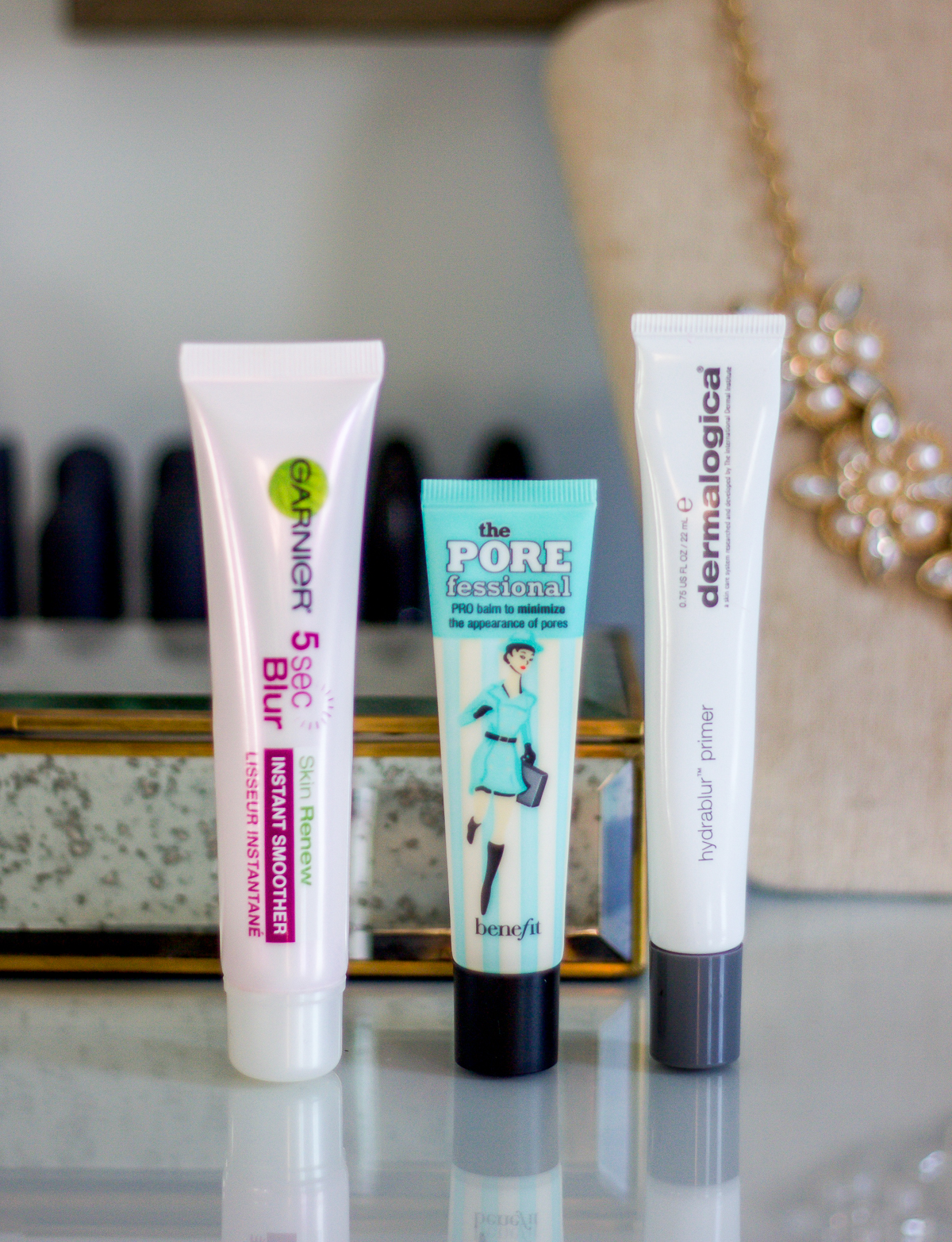 The best primers at different price points, from Garnier, Benefit Cosmetics and Dermalogica