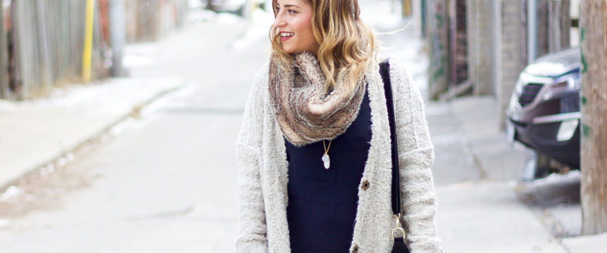 Keeping it Cozy: The Faux Fur Scarf