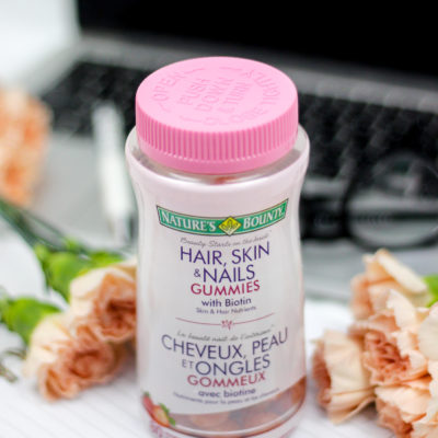 My Morning Routine with Nature's Bounty Hair, Skin & Nails Gummies