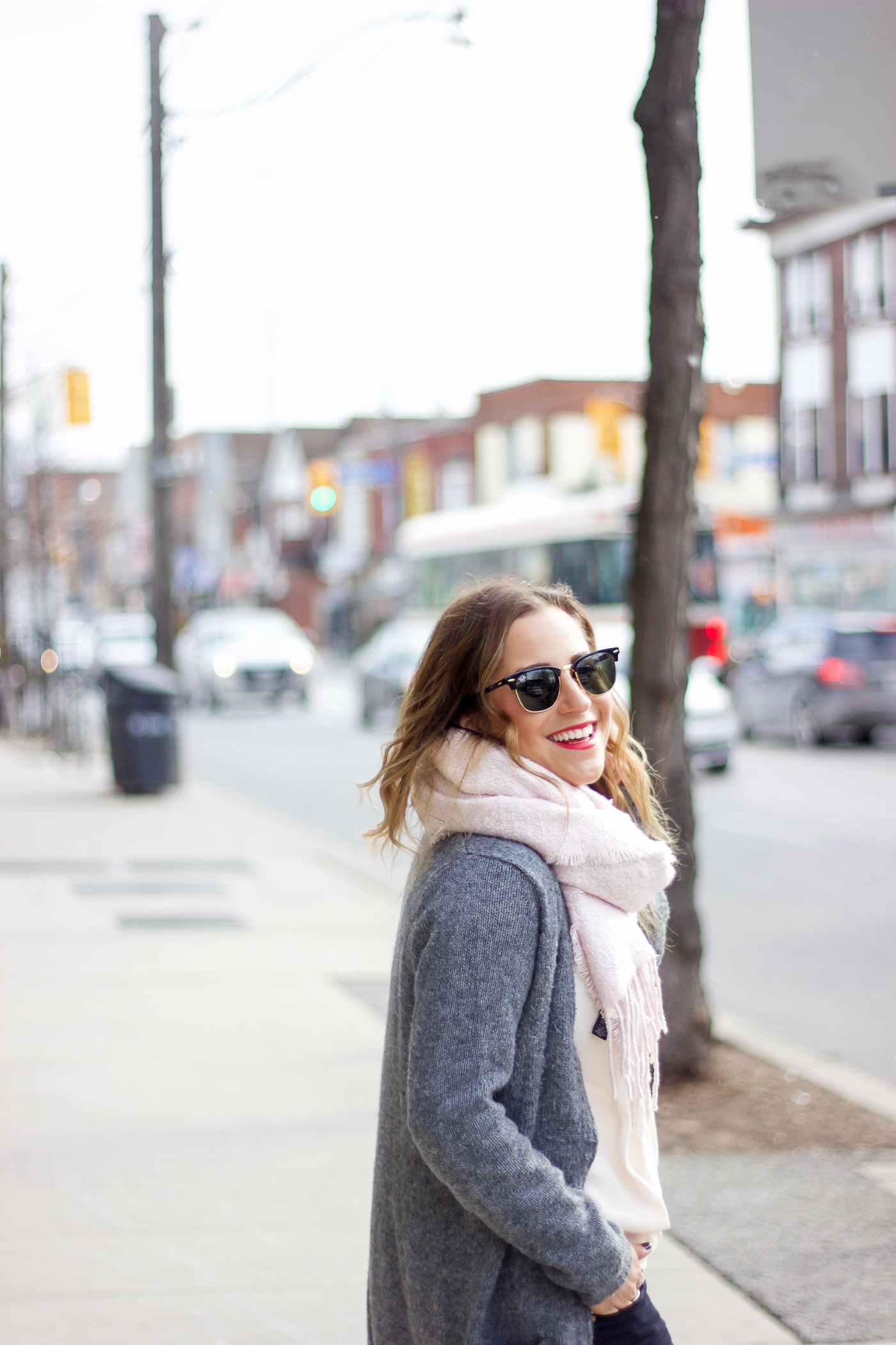 Jackie Goldhar is a Canadian fashion blogger, based out of Toronto
