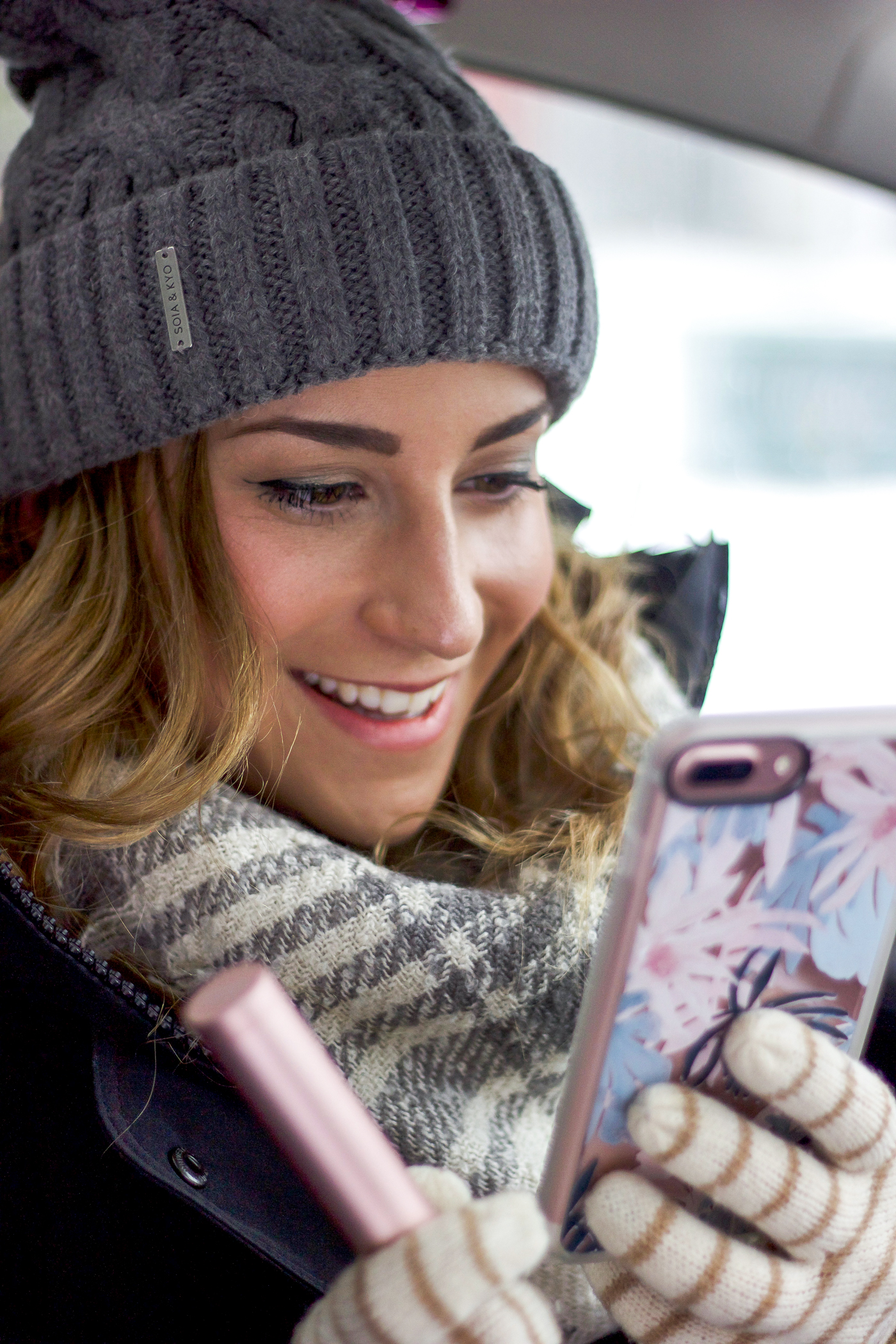 Canadian fashion blogger is sharing her winter driving essentials