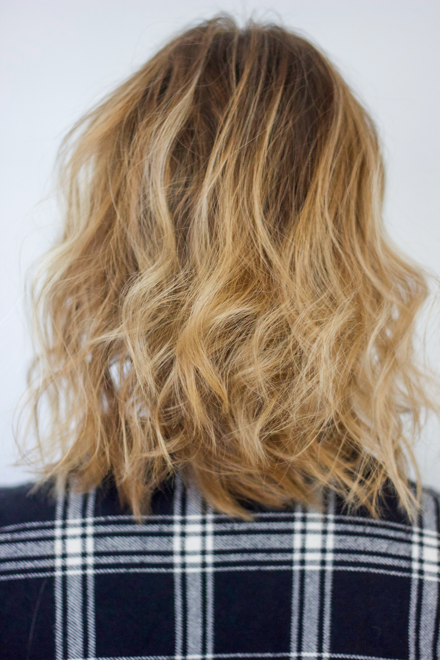 Beach Waves and a lob hair cut with fine hair that's also thin