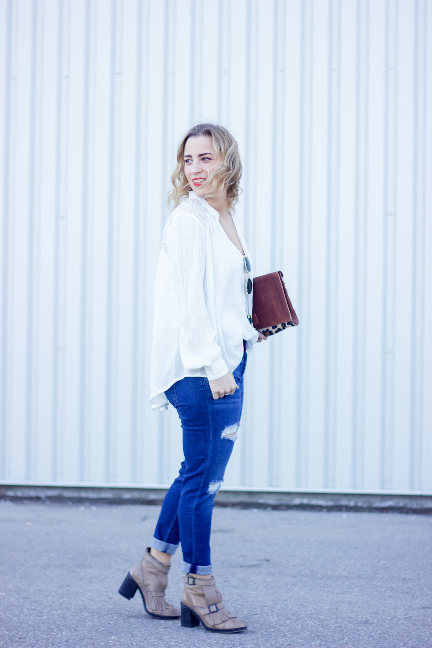Canadian lifestyle and fashion blogger, Jackie Goldhar of Something About That, is chatting about her experience with how PMS impacts her mood while shopping