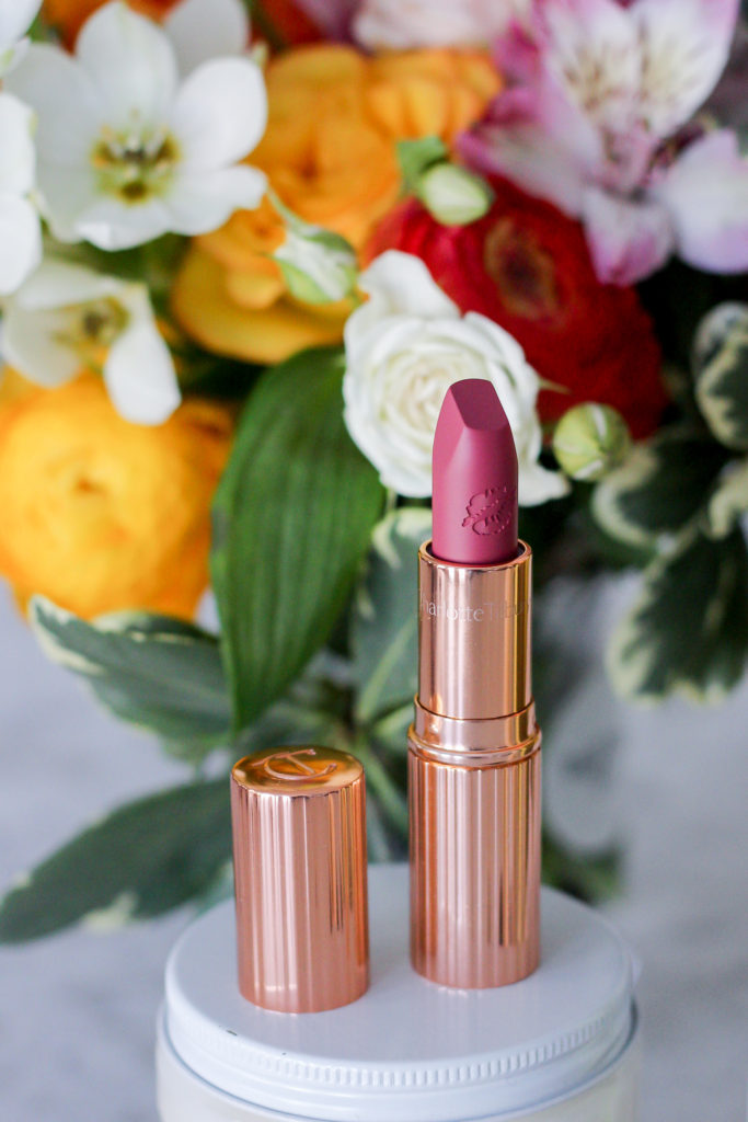Charlotte Tilbury lipstick in 'secret salma'