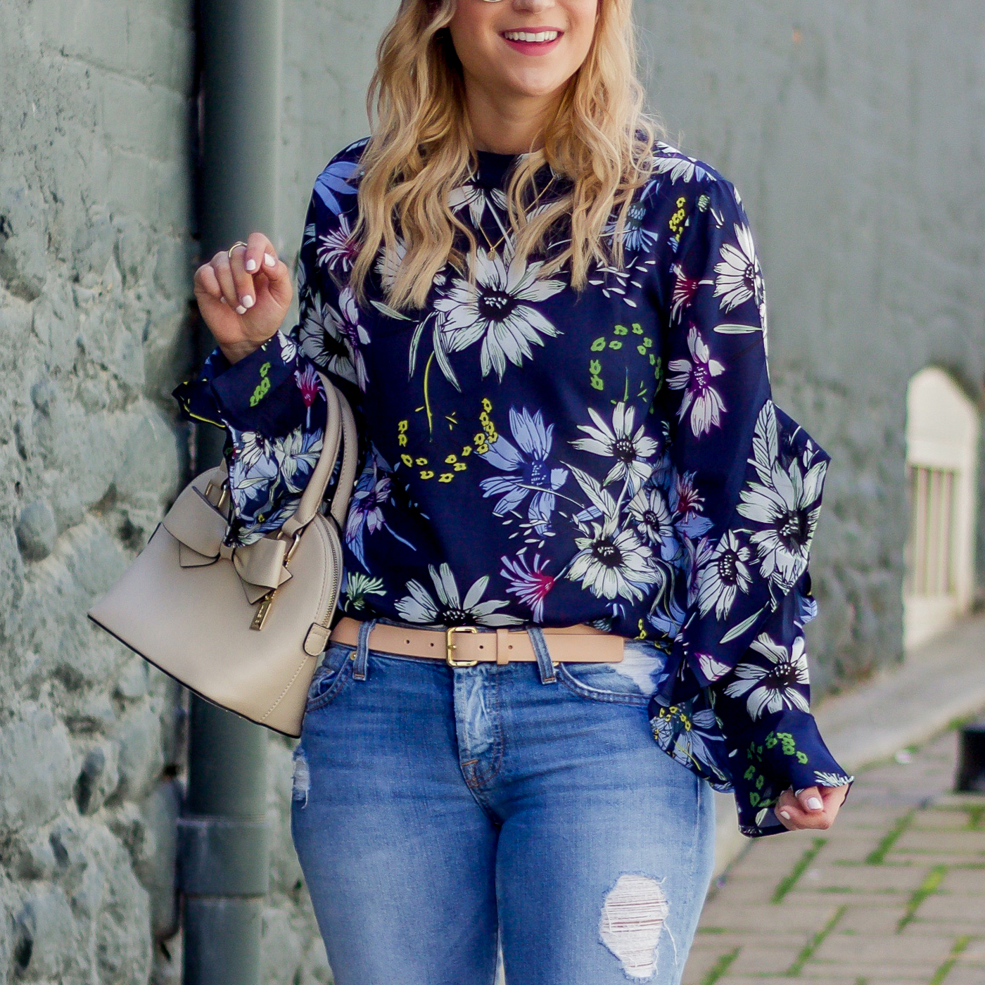 Spring outfit idea, fromToronto fashion and lifestyle blogger Jackie of Something About That