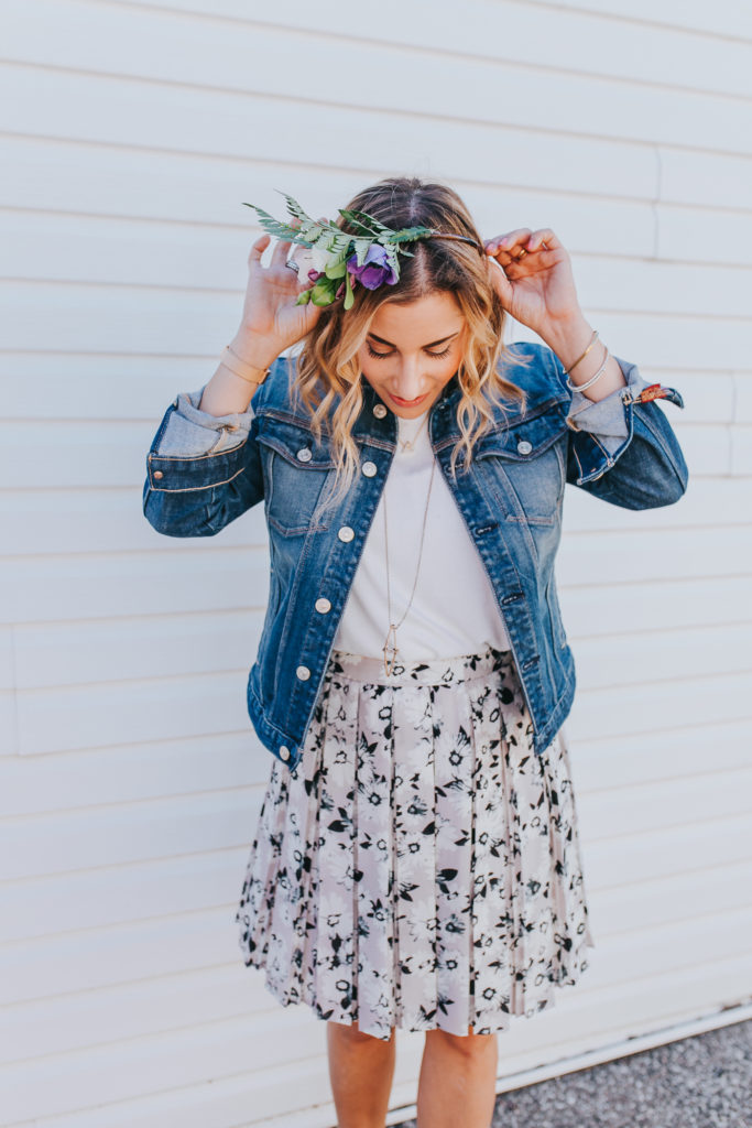 How to Wear a flower crown when you don't have a music festival or wedding to go to