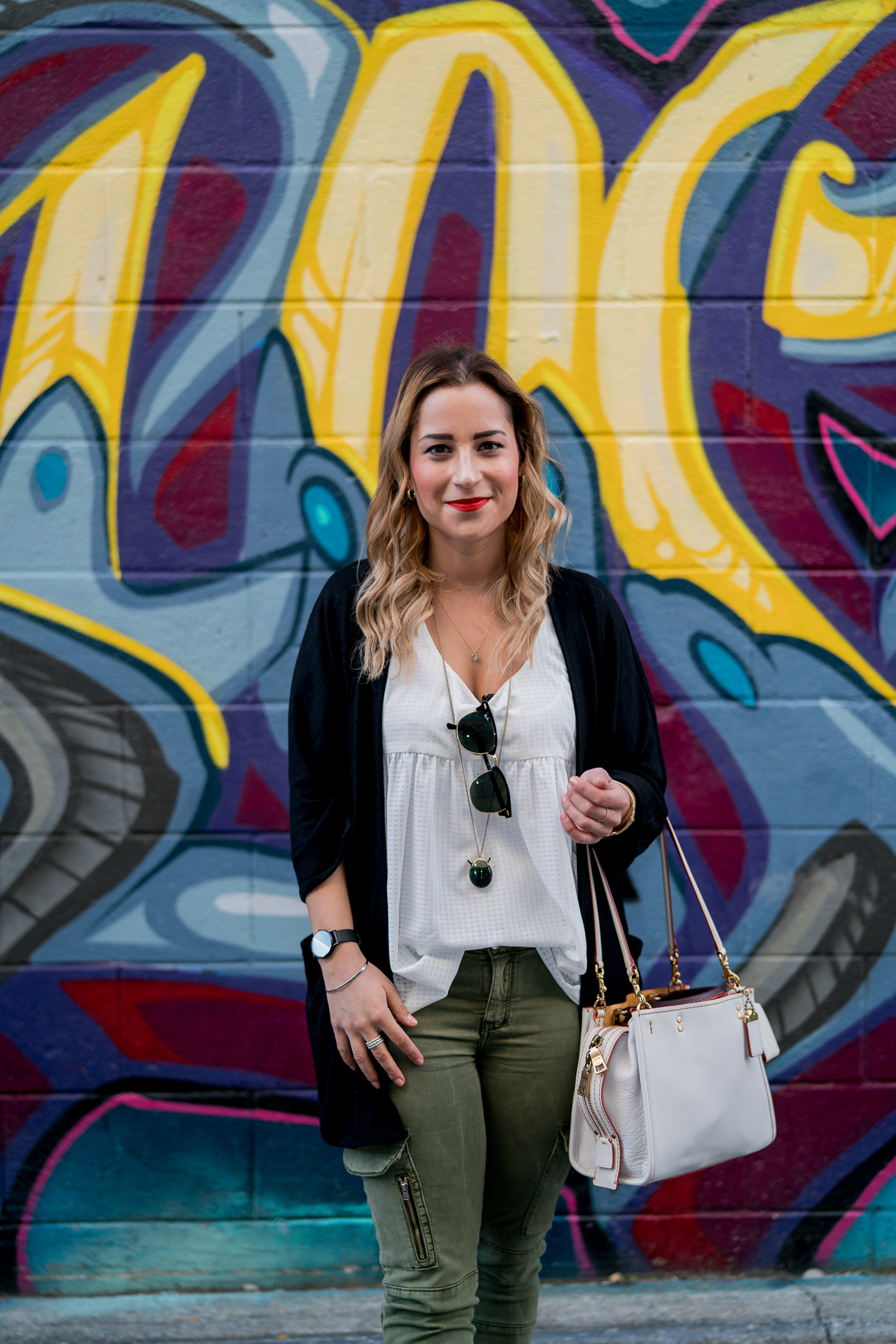 Toronto-based fashion blogger is exploring Kensington Market