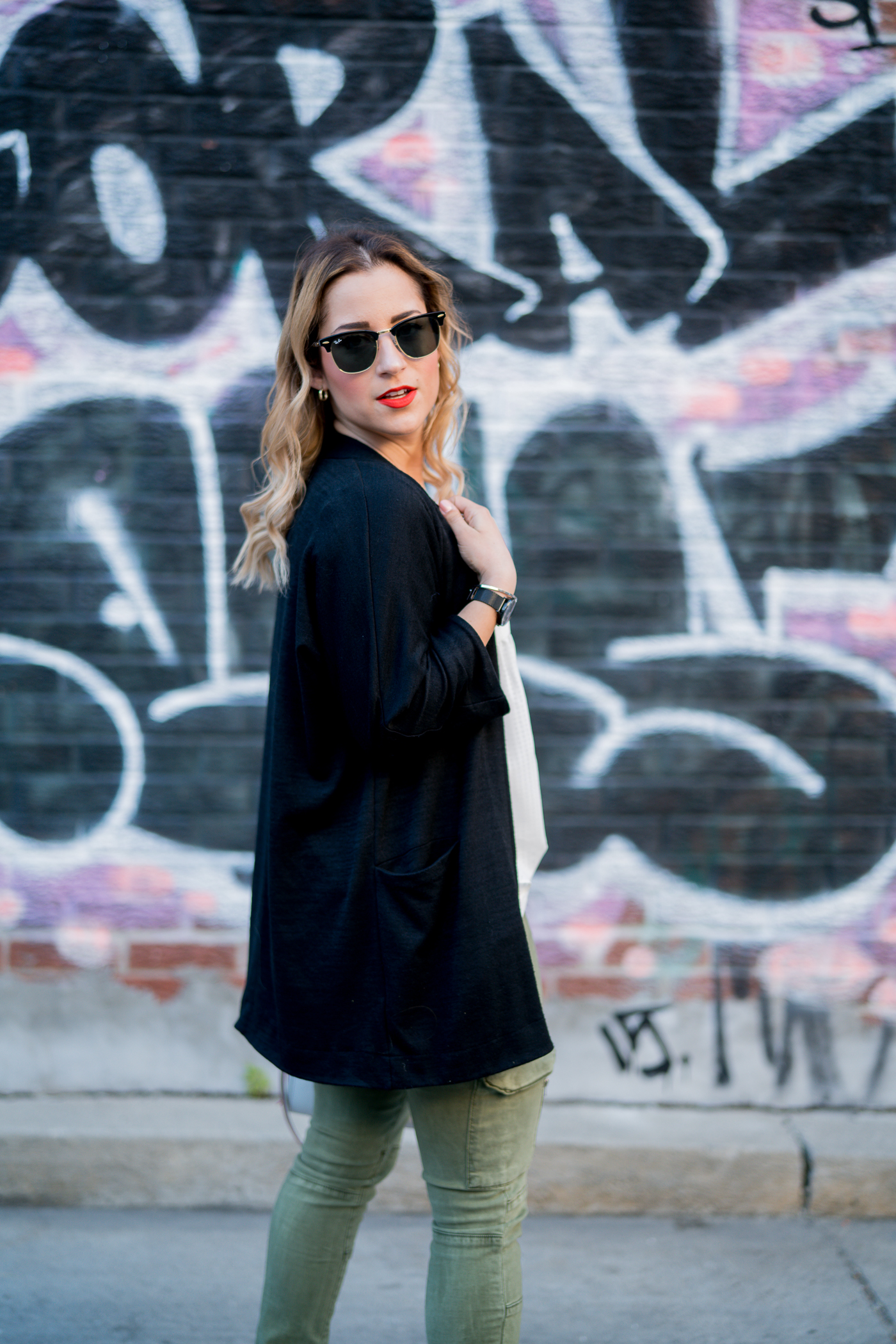 Spring outfit idea, as seen on Toronto fashion blogger, Jackie Goldhar of Something About That blog