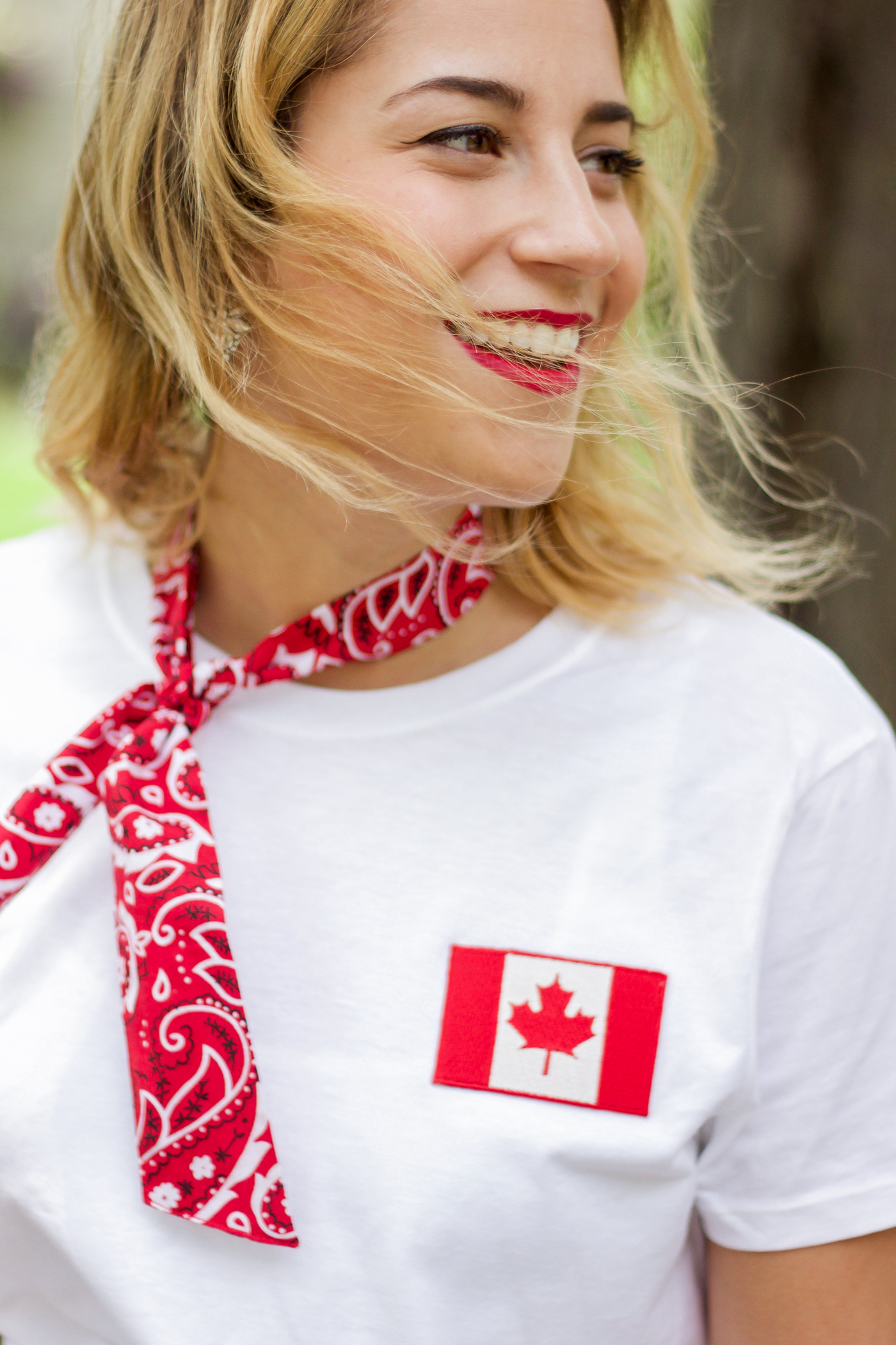 Canadian fashion blogger Jackie Goldhar is sharing some Canada 150 Canada Day outfit ideas