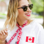 Easy and Chic Canada Day Outfit Idea