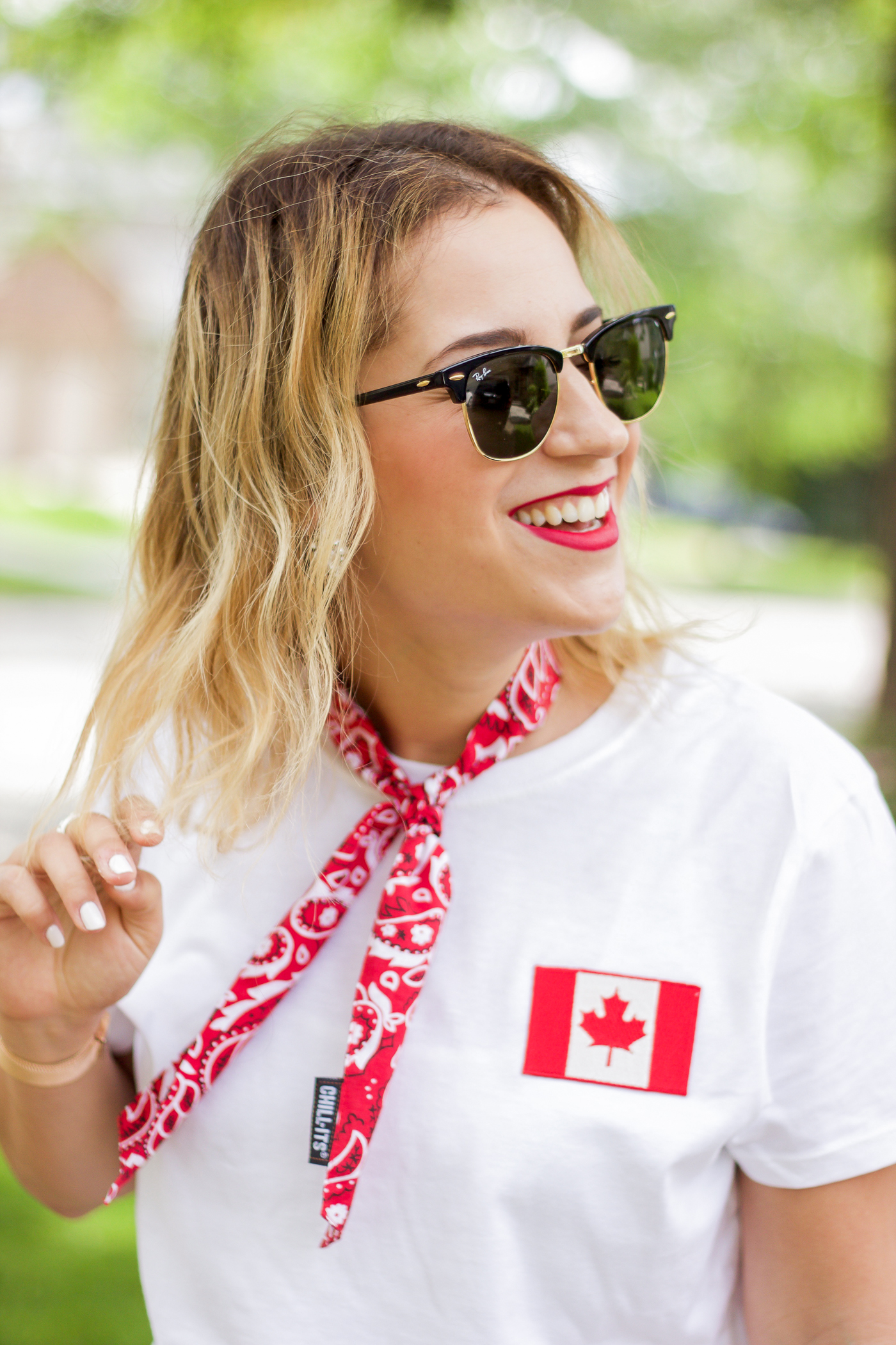 Canada day fashion and accessories from Amazon.ca are perfect for #Canada150